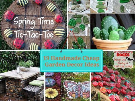 diy outdoor decor image gallery garden decor