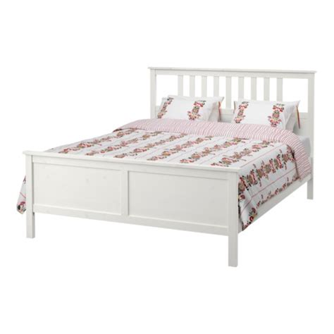 hemnes king bed frame hemnes bed frame king l 246 nset ikea