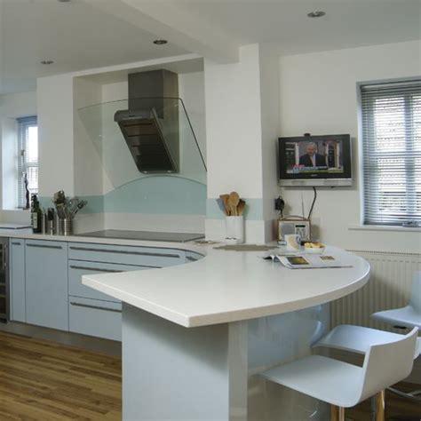 kitchen design with breakfast bar kitchen designs with a curved bar area 25 modern kitchen