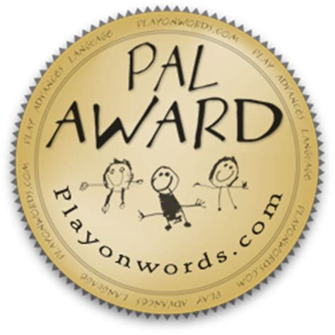 pal the about the pal award play on words reviewsplay on