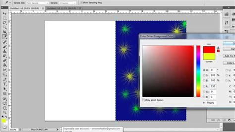 how to make a card in photoshop how to create greeting card in photoshop cs5
