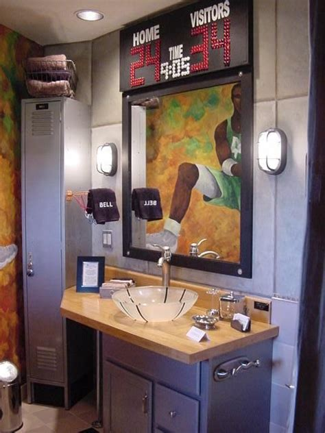 sports themed bathroom accessories 25 best ideas about sports theme basement on