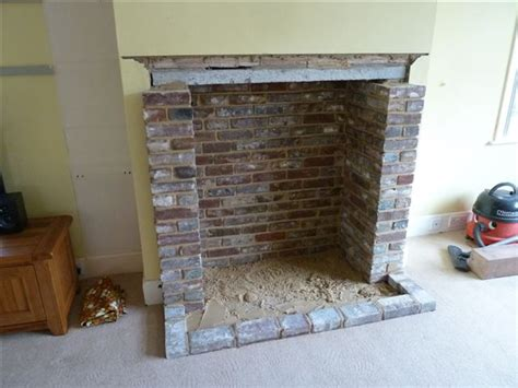 up fireplace opening up and building fireplaces