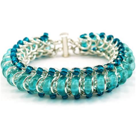 how to make chainmaille jewelry learn to make chainmail jewelry blue buddha boutique