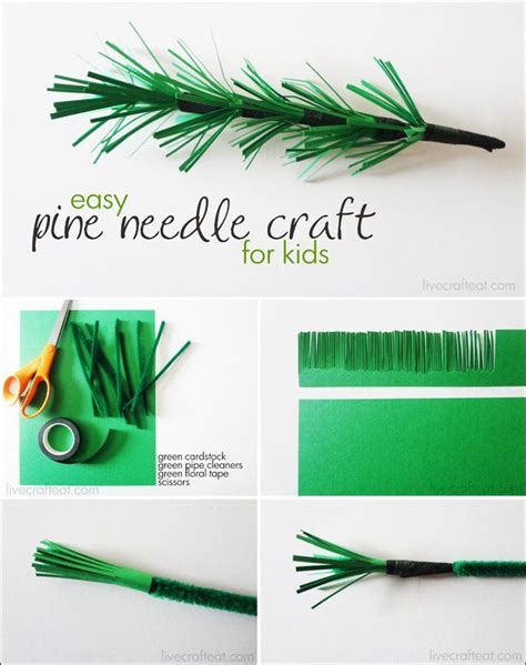 pine needle crafts for pine needle paper craft for creative arts crafts