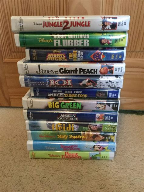 a look at my disney vhs and dvd collection part 2