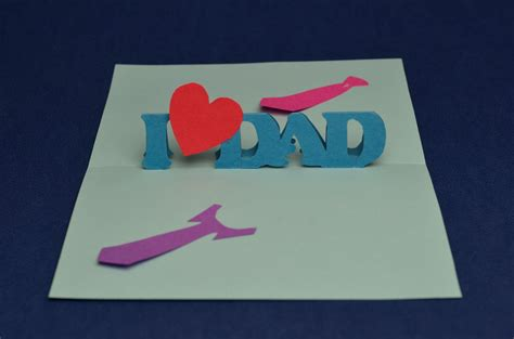 fathers day card to make easy s day pop up card template creative pop up cards