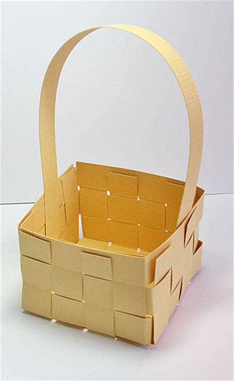 paper basket craft woven paper basket paper craft style crafts