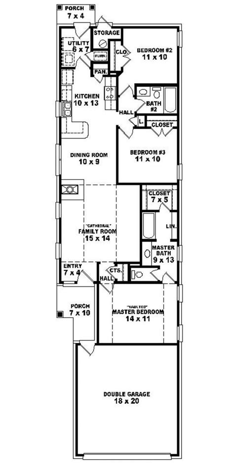 home plans for narrow lot best narrow lot house plans homes floor plans