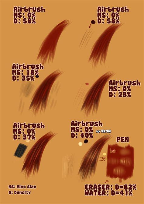 paint tool sai realistic hair tutorial semi realistic hair tutorial by haitikage on deviantart
