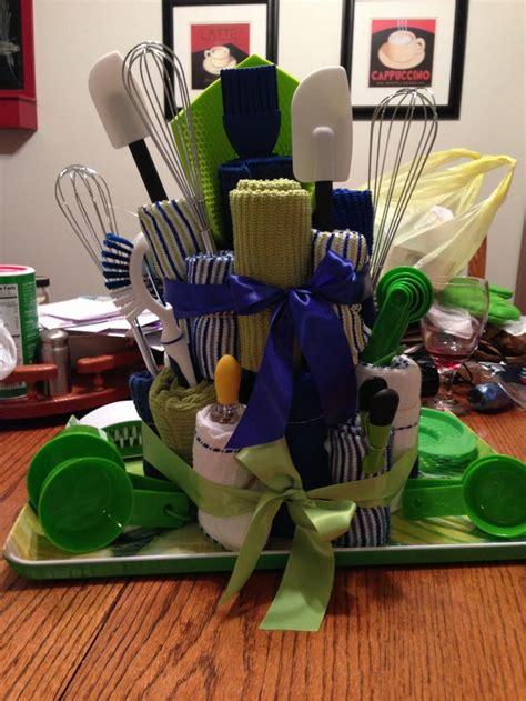 gift ideas for kitchen kitchen towel cake bridal shower gift gift ideas make