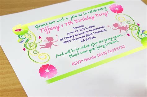 make a birthday invitation card free how to create your own birthday invitations 7 steps