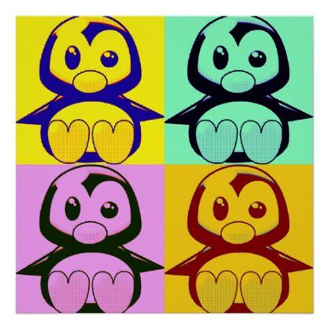 pop for toddlers pop tux penguin poster zazzle