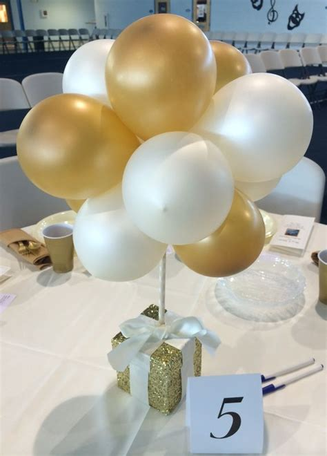 small table decorations 17 best ideas about balloon centerpieces wedding on