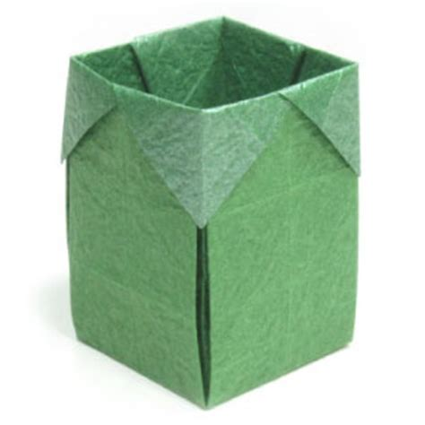 origami small box how to make a trash origami box page 1