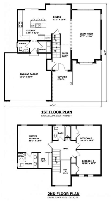 best 2 story house plans two story home plans with open floor plan new home plans design