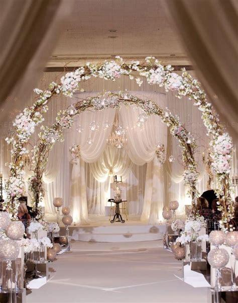 white wedding decoration ideas 20 awesome indoor wedding ceremony d 233 coration ideas