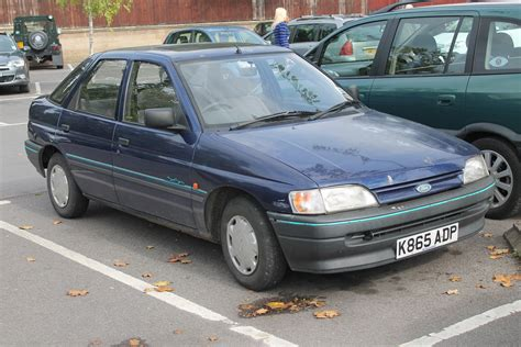 how petrol cars work 1994 ford escort parking system 1992 ford escort 1 4 sea spray pre facelift managed to s flickr