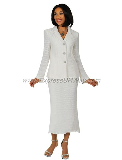 knit suits for womens knit suits todd and td94402 white fall