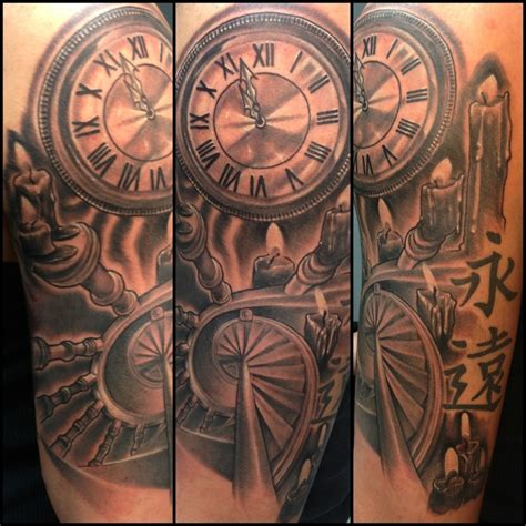 time piece tattoos pinterest