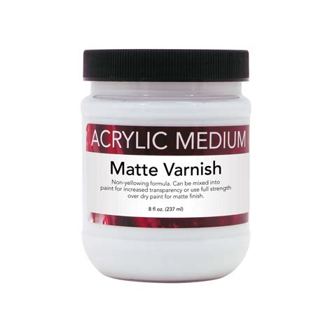 acrylic painting varnish 8 oz acrylic matte varnish advantage