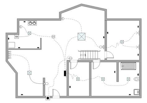 electrical floor plan software floor plan exles