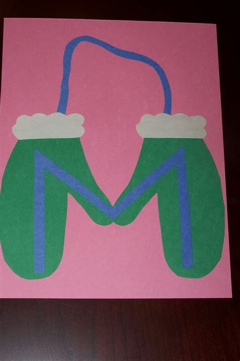 letters for craft projects letter m crafts preschool and kindergarten