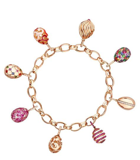 charms and faberg 233 s miniature egg charms collection extravaganzi