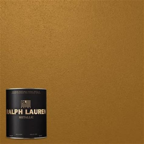 home depot paint colors ralph ralph 1 qt cloth of gold metallic specialty finish