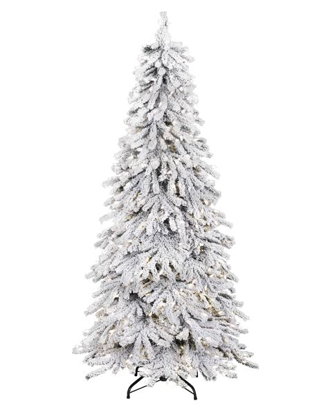 snowy spruce flocked artificial tree treetopia