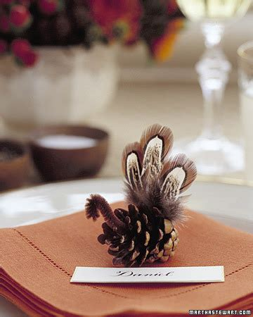 martha stewart thanksgiving crafts for pinecone turkey martha stewart