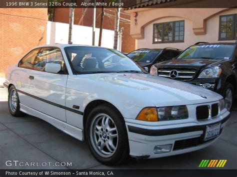 1996 Bmw 328is by Alpine White 1996 Bmw 3 Series 328is Coupe Beige
