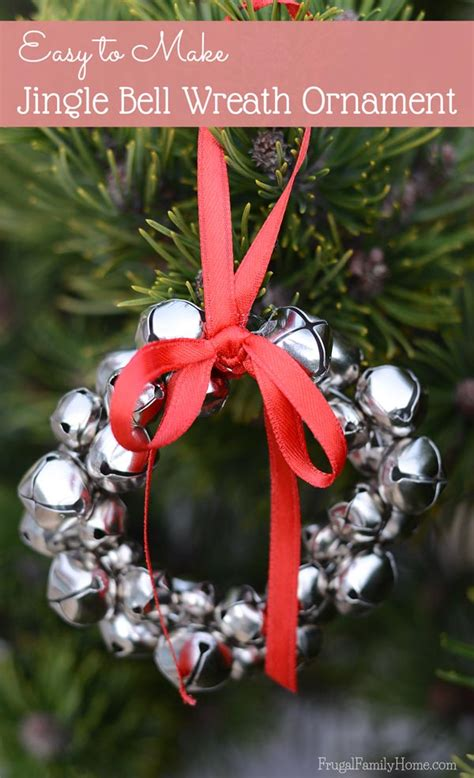jingle bell wreath easy to make jingle bell wreath ornaments