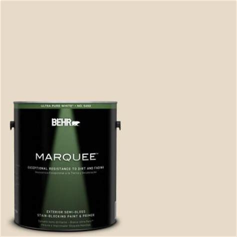home depot paint and primer in one colors behr marquee 1 gal 1823 antique white semi gloss