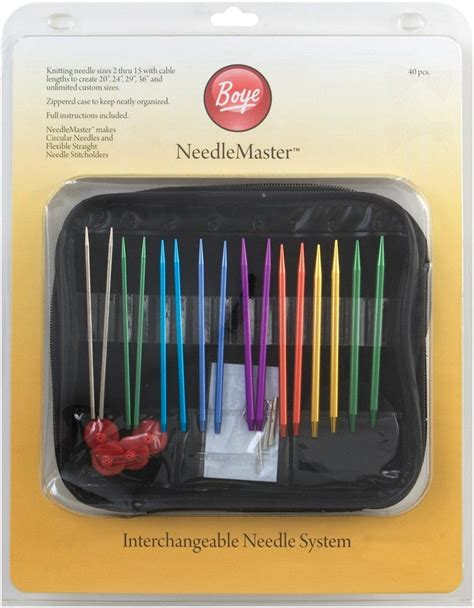 boye interchangeable knitting needles view larger
