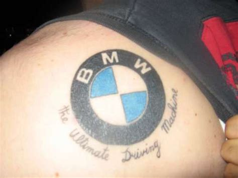 tattoo battle bmw and vw fans fun