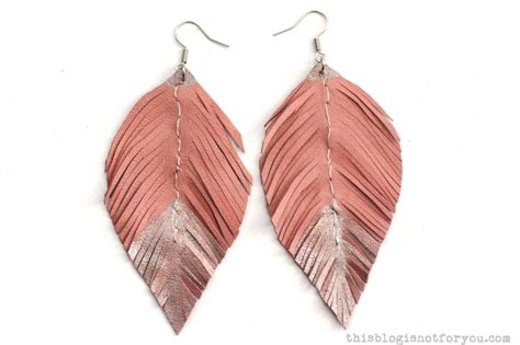 how to make feather jewelry diy jewelry made with feathers