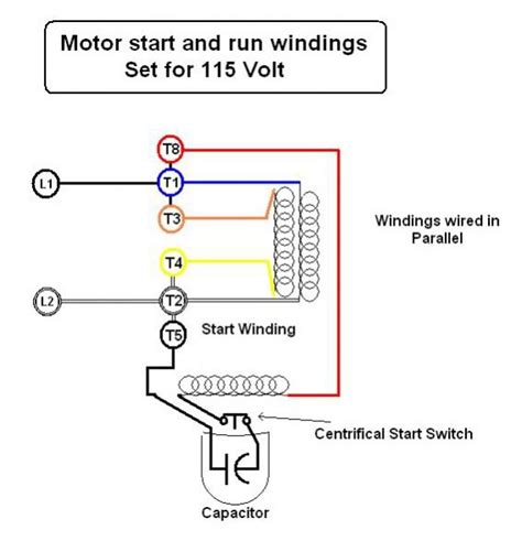 Electric Motor Wiring by Emerson Electric Motor Wiring Help Doityourself