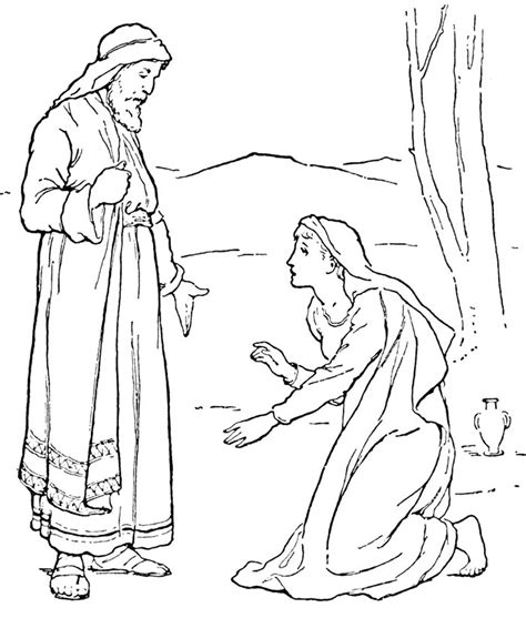 bible angels coloring pages
