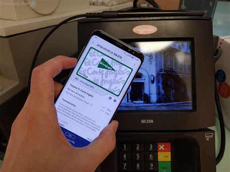 tarjeta de compras del corte ingles samsung pay ya es compatible con la tarjeta de compra de