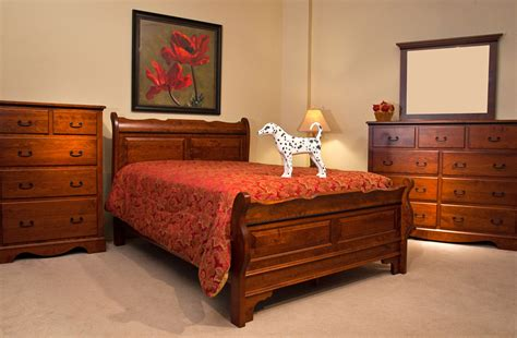 amish bedroom furniture amish rustic cherry bedroom