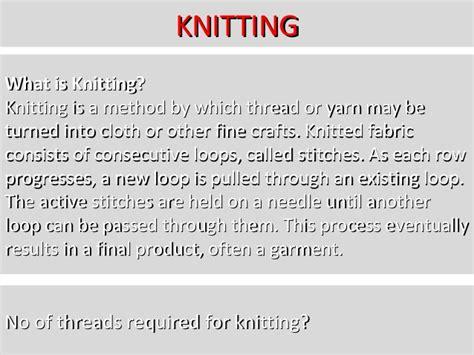 warp knitting definition knitting technology