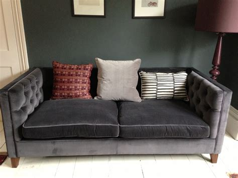 Purple And Brown Bedroom Ideas velvet sofa for your improved living room environment