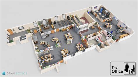 office design floor plan 3d floorplan of the office dundermifflin