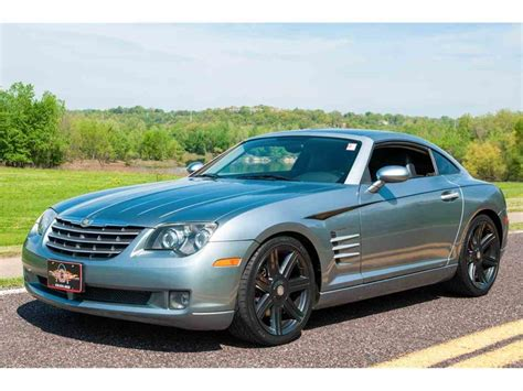 Chrysler Crossfire by 2004 Chrysler Crossfire For Sale Classiccars Cc 977519