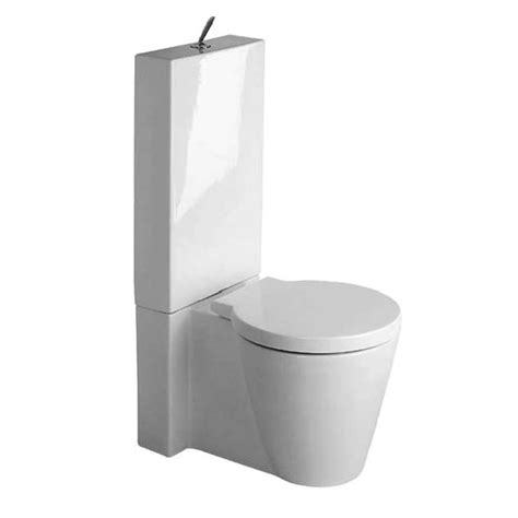 Duravit Toilet Accessoires by Duravit Starck 1 Close Coupled Toilet With Cistern Seat