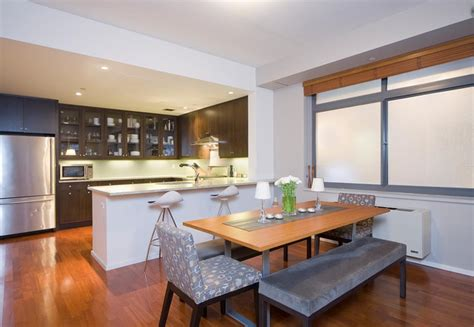 Small Dining Room Ideas Decorating kitchen dining area contemporary kitchen new york