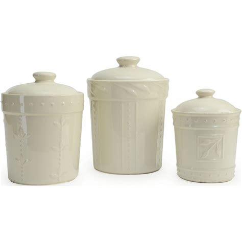 Kitchen Canister signature housewares sorrento kitchen canisters 3 piece