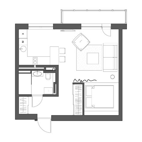 micro apartments floor plans 2 simple beautiful studio apartment concepts for a