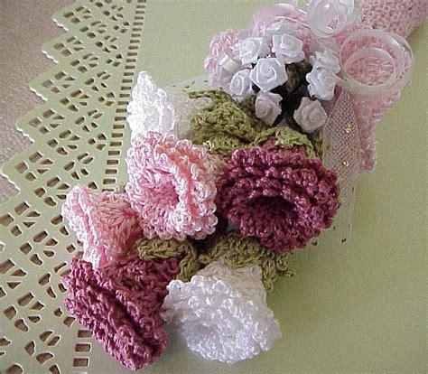 knitted bouquet pattern crochet flower bouquet crochet for beginners